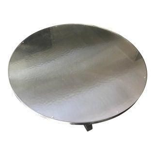 Contemporary Bernhardt Metal Dining Table
