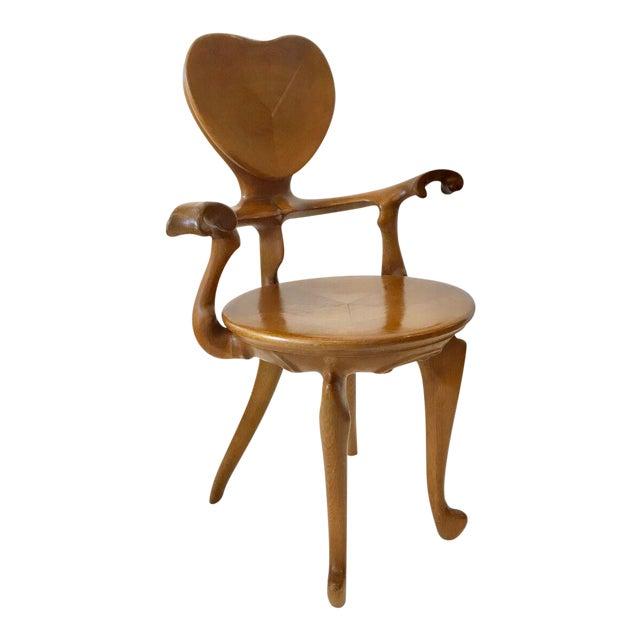 Calvet Armchair by Antoni Gaudi For Sale
