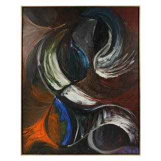"Michael DI Cosola ""Projection"", Large Abstract in Oil, 1957 1957 For Sale"