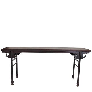 1900s Chinese Qing Sofa Console Table For Sale