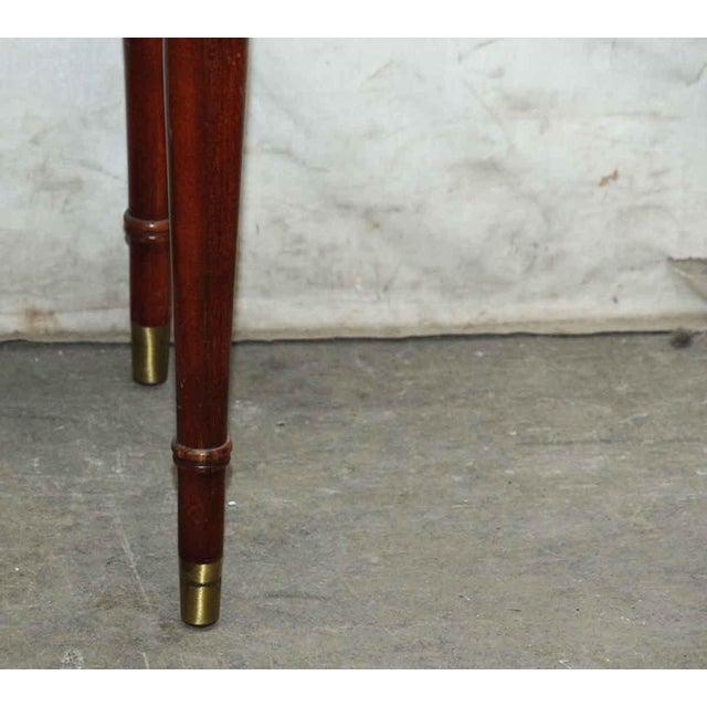 Vintage Flip Top Storage Table For Sale - Image 10 of 10