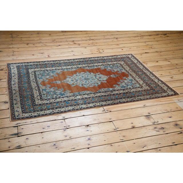 """Old New House Fine Antique Haji Jalili Tabriz Rug - 3'11"""" X 5'10"""" For Sale - Image 4 of 13"""