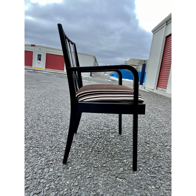 1950s Paul Frankl for Johnson Furniture Zig Zag Armchair 1950s For Sale - Image 5 of 13