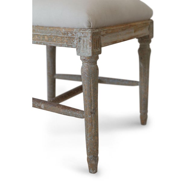 Wood Six Swedish Dining Chairs For Sale - Image 7 of 11