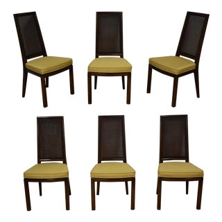 Henredon Cane Back Dining Chairs - Set of 6