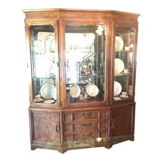 Vintage Thomasville China Hutch For Sale