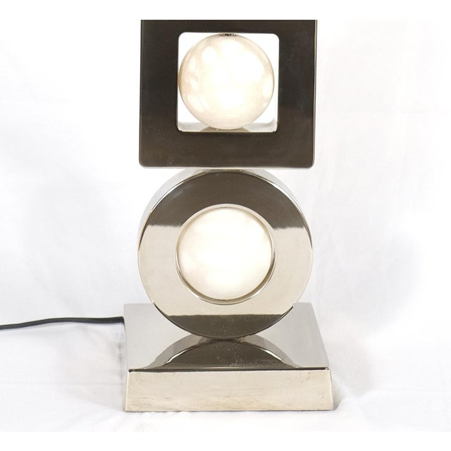 Early 21st Century Laudarte Srl Andromeda Table Lamp by Attilio Amato, Pair Available For Sale - Image 5 of 8