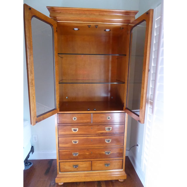 Mt. Airy Display Armoire Cabinet - Image 5 of 11