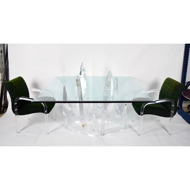 "Lion in Frost ""Iceberg"" Dining Table by Lion in Frost For Sale - Image 4 of 8"