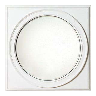 Century Furniture Grand Convex Mirror For Sale