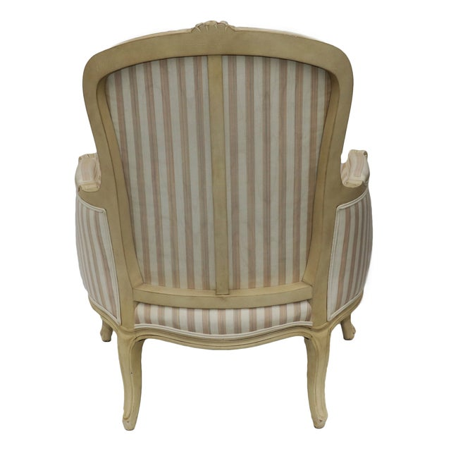 John Widdicomb French Style Upholstered Chair - Image 4 of 9