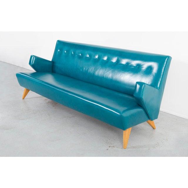Mid-Century Modern Jens Risom Model 37 Sofa For Sale - Image 3 of 10