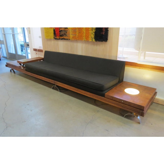 Magnificent Mid Century Modern Platform Sofa Andrewgaddart Wooden Chair Designs For Living Room Andrewgaddartcom