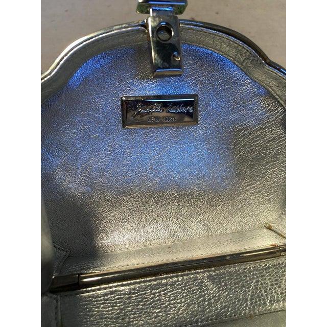 Judith Leiber Green Swarovski Crystal Minaudiere Evening Bag For Sale In Philadelphia - Image 6 of 9