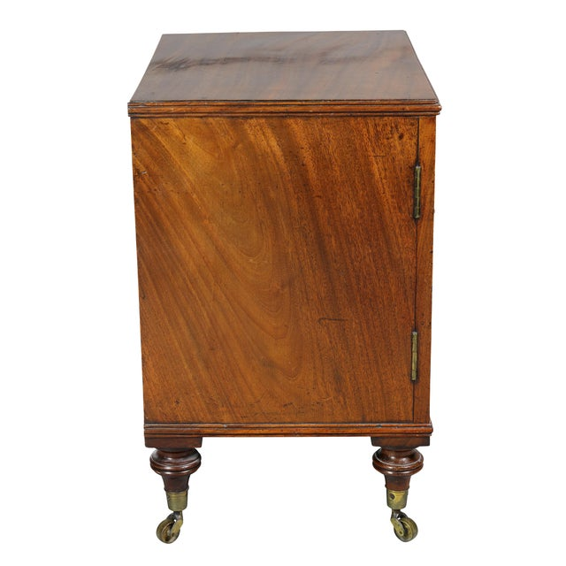Wood George III Mahogany Collectors Cabinet For Sale - Image 7 of 10