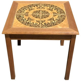 Danish Tile Top Table