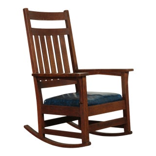 Vintage New Mission Rocking Chairs Chairish