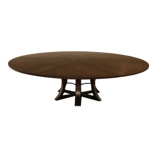 Sarreid Ltd. Jupe Expandable Round Dining Table For Sale