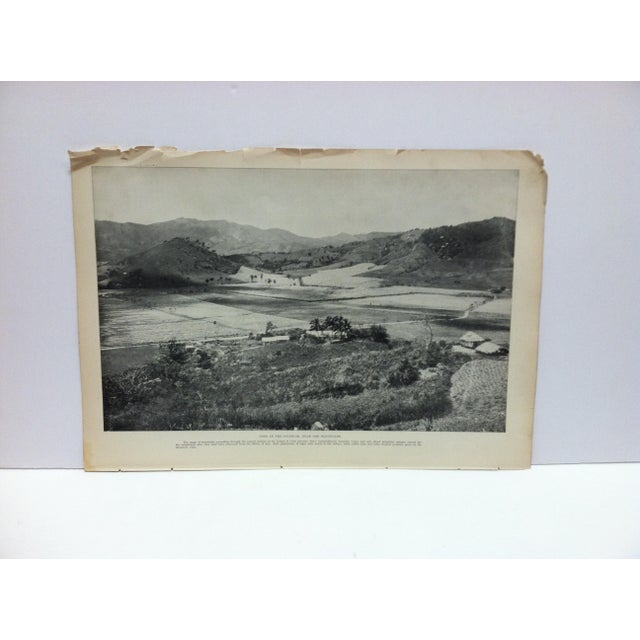 "Late 19th Century Antique Our Islands and Their People Print, ""View in the Interior Near the Mountains"" - n.d. Thompson Co. -- 1899 For Sale - Image 5 of 5"