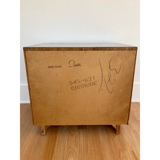 Metal Late 20th Century Dixie Campaign Nightstand For Sale - Image 7 of 12
