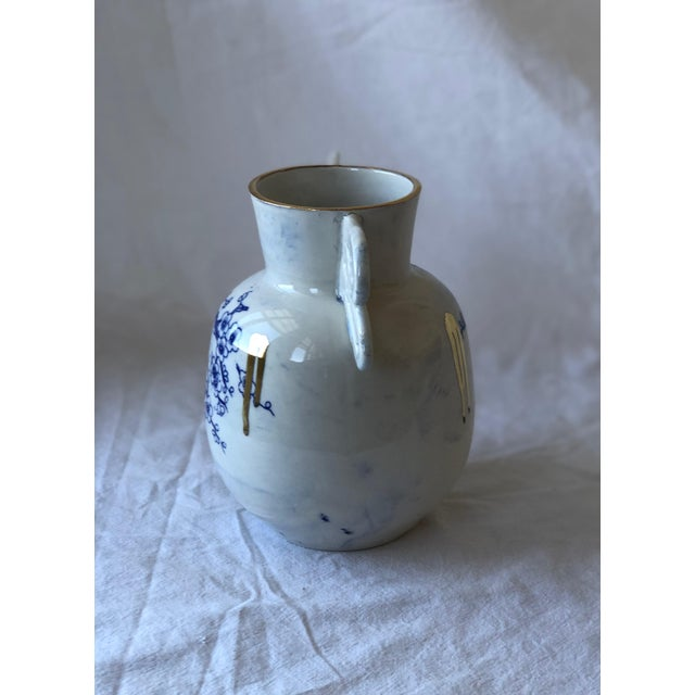 Contemporary Ceramic Chinoiserie Vase For Sale - Image 4 of 6