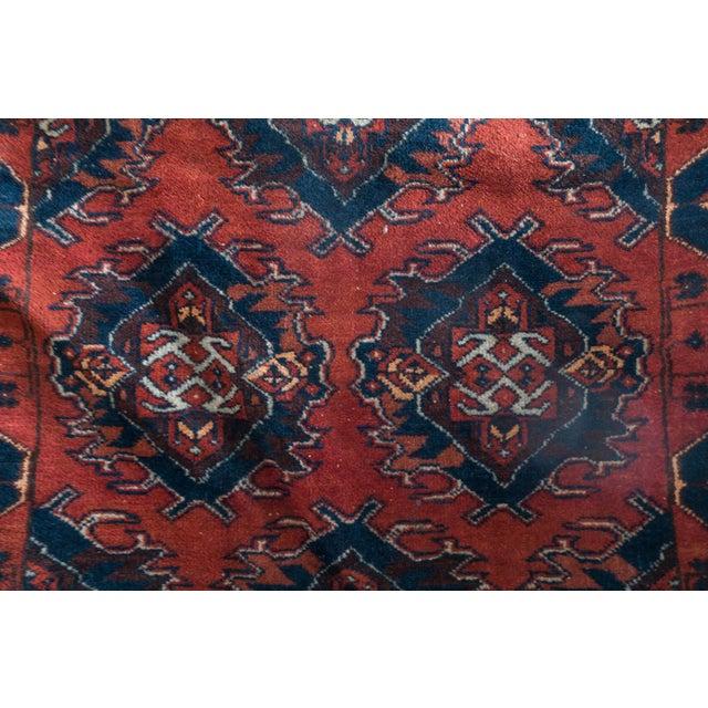 Vintage Persian Carpet Rug - 3′12″ × 6′2″ For Sale - Image 4 of 9