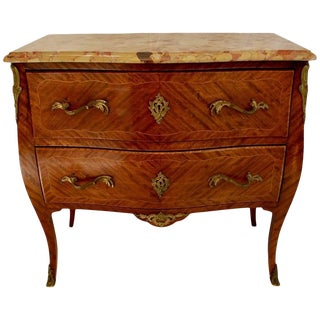 French 1920s Bombe/Chest of Draw Louis XV Style For Sale
