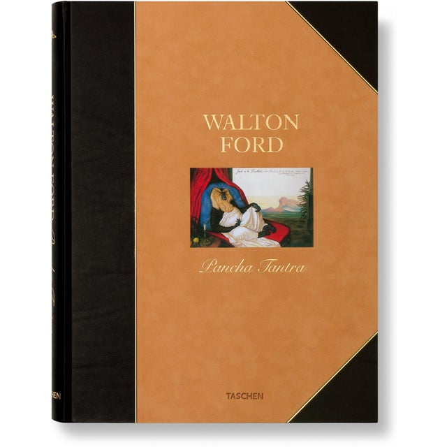 "Brown ""Pancha Tantra"" by Walton Ford Photography Collection Autographed Collector's Edition For Sale - Image 8 of 8"