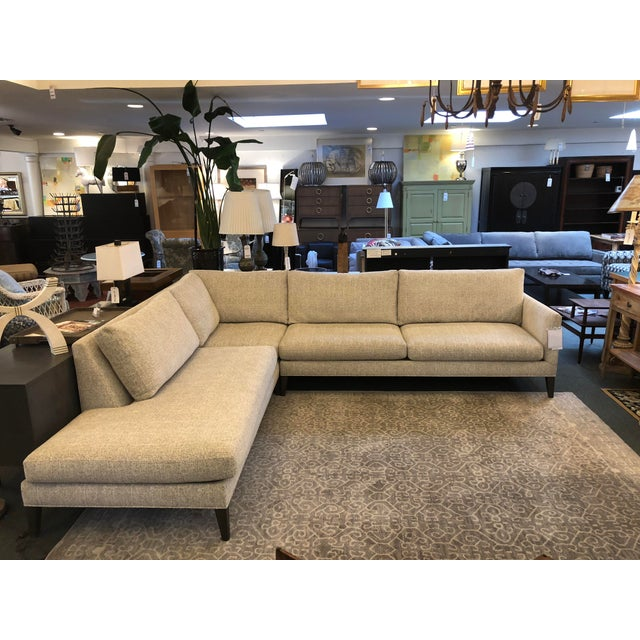 New Thayer Coggin Notti Sectional - Image 11 of 11