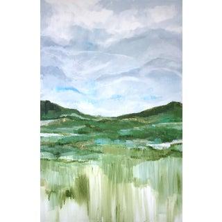 'Yonder' Original Landscape Painting by Linnea Heide For Sale