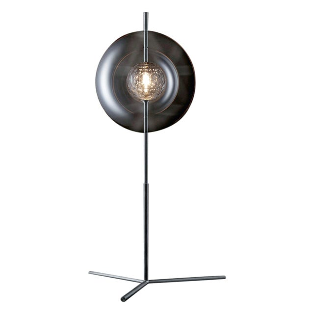 """Glass """"Captured"""" Table Lamp by Michael Anastassiades For Sale - Image 7 of 7"""