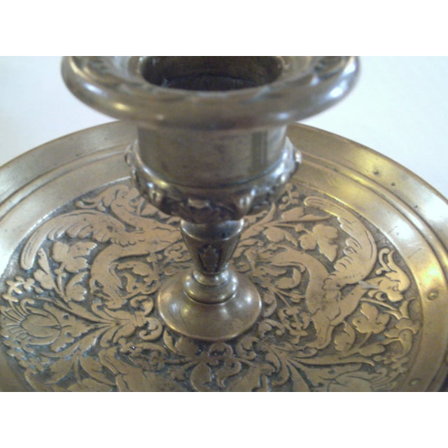 Bronze Chamber Candel Holders - A Pair - Image 11 of 11