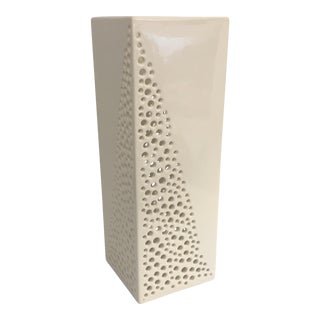 Contemporary Pierced Vase
