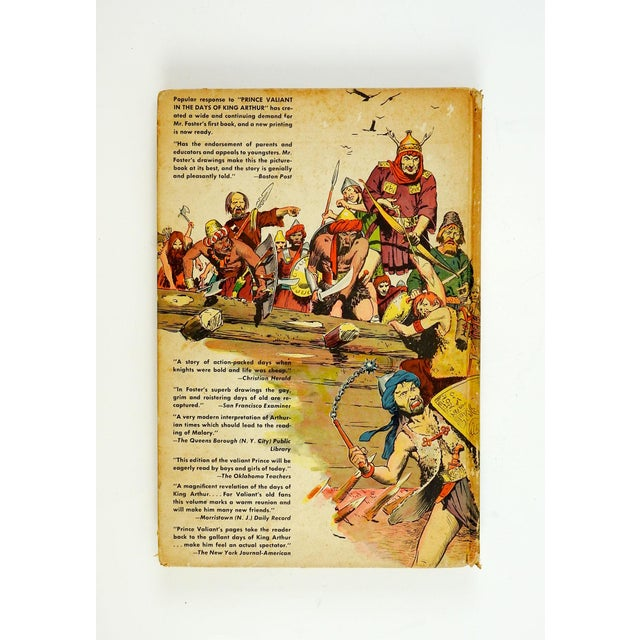 "Pop Art ""Prince Valiant Fights Attila the Hun"" 1952 Graphic Novel For Sale - Image 3 of 9"