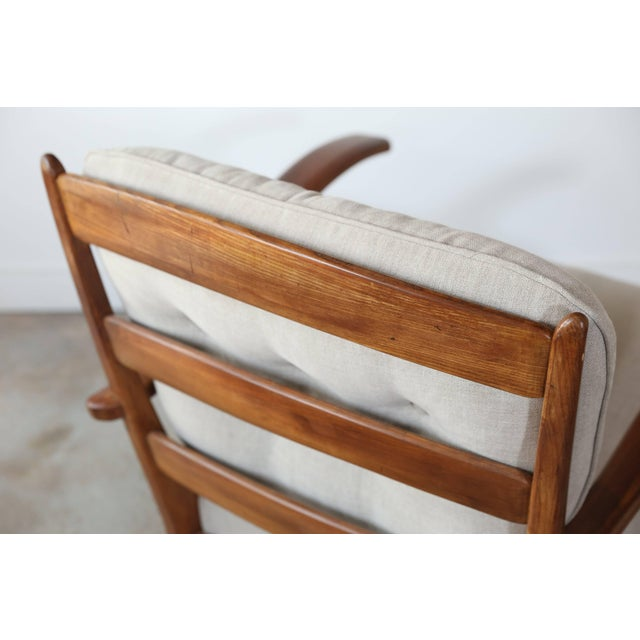 Mid-Century Modern Pair of 1960s Chairs For Sale - Image 3 of 8