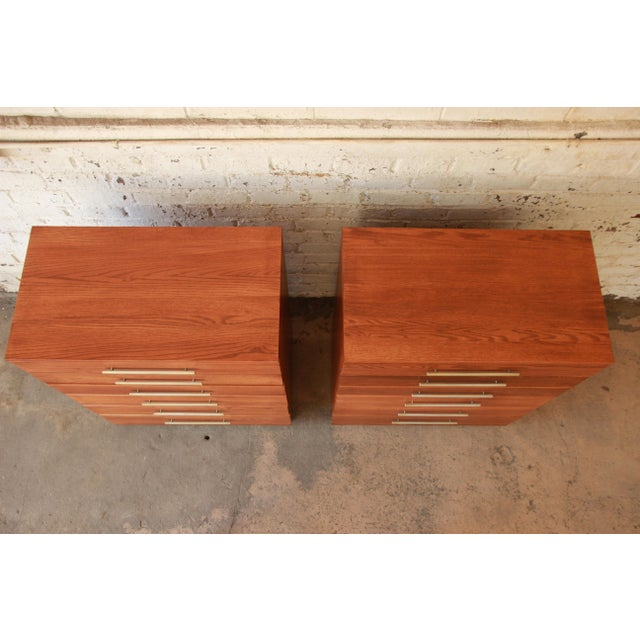 Mengel Furniture Co. Raymond Loewy for Mengel Highboys- a Pair For Sale - Image 4 of 11