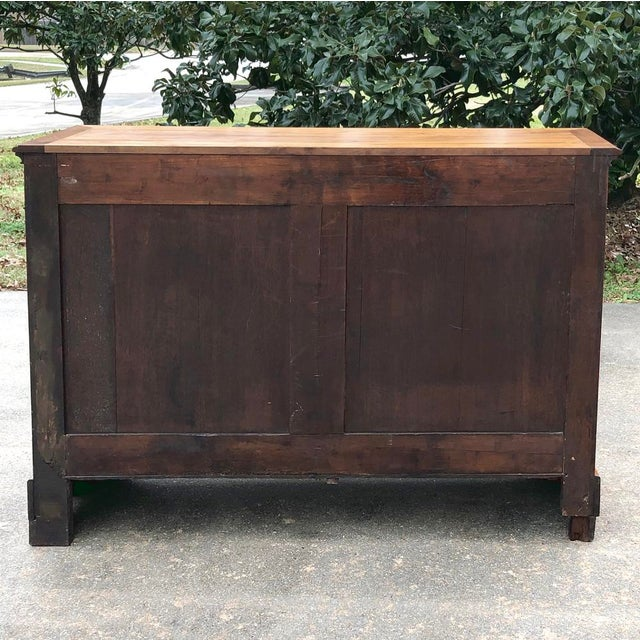 19th Century French Louis Philippe Cherry Wood Buffet For Sale - Image 10 of 11