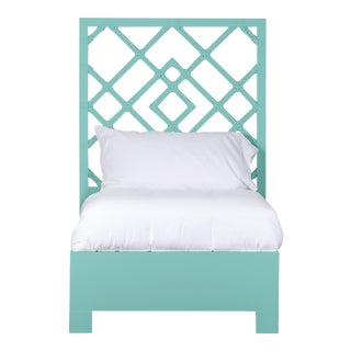 Darien Bed Twin - Turquoise For Sale