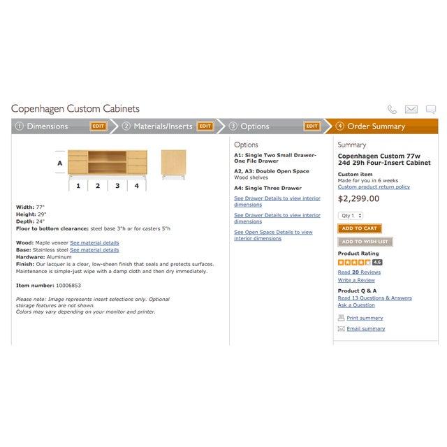 Room & Board Custom Copenhagen Storage Console - Image 7 of 7