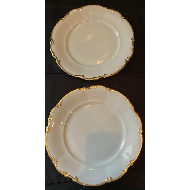 Vintage Hutschenreuther Brighton Dinner Plates - Set of 6 For Sale - Image 11 of 13