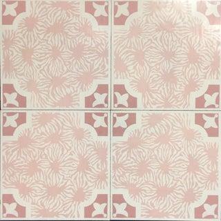 Celerie Kemble Blushing Blooms Hardwood Tile - 1 Box, 14 Tiles