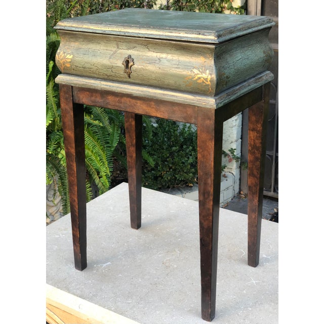 Italian Minton Spidell Box Form Side or End Table For Sale - Image 3 of 8