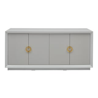 Monroe Sideboard Buffet in White For Sale
