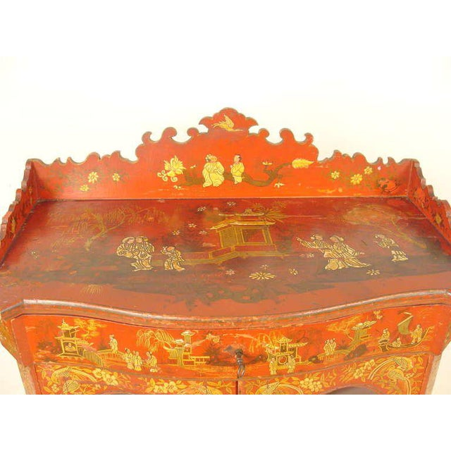 Chinoiserie Decorated Cabinet - Image 6 of 10