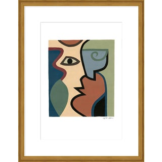 """Medium """"Four"""" Print by Sia Dzahn, 20"""" X 26"""" For Sale"""