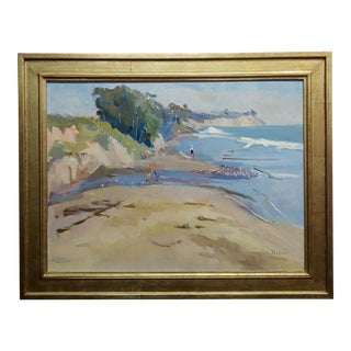"Joan Milligan ""Goleta Beach"" California Oil Painting For Sale"