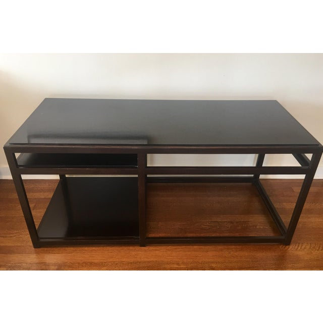 Contemporary 1950s Mid-Century Modern Dunbar Edward Wormley Architectural Console Table For Sale - Image 3 of 8