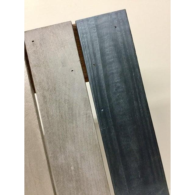 Industrial Reclaimed Hardwood Meditation Table For Sale - Image 10 of 13