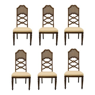 Lane Furniture Spanish Revival Side Chairs - Set of 6 For Sale