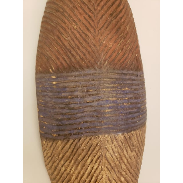 Dissimilar Decorative African Shields - Set of 2 For Sale - Image 4 of 8